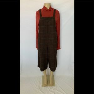 Forever 21 Contemporary Size Large Tweed Overalls
